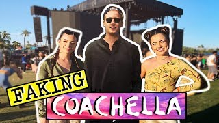 I FAKED GOING TO COACHELLA WITHOUT LEAVING MY BEDROOM! *INSTAGRAM PRANK*