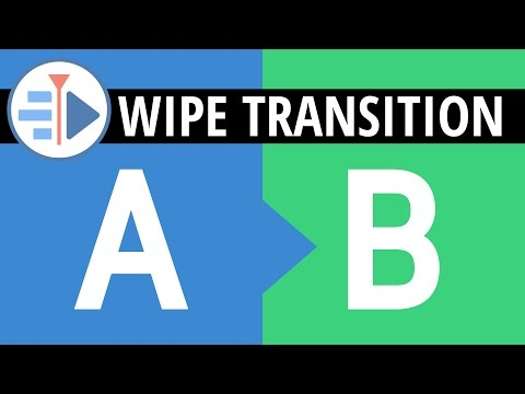 Kdenlive Wipe Transitions | Dynamic Crop Effect