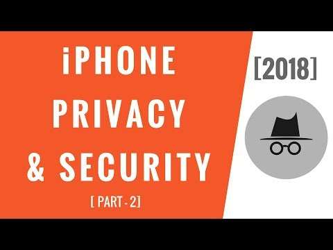 iPhone Settings! Privacy & Security (Part-2)