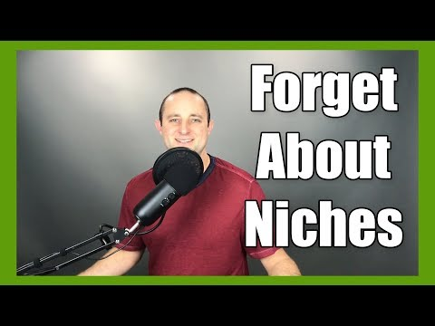 You Don't Need A Niche, You Need This...