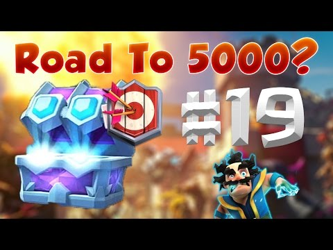 Master 1 Draft Chest! & Road To 5000?! | Let's Play 19.Rész | Clash Royale Magyarul