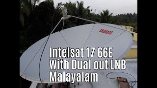 Intelsat 17 66 E Dish Setting And Channel List । देखिए