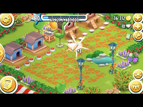 Lucky Day To Get Diamond From Ballon Flying in Hay Day Level 80 | Part 05 - Freedom Farm