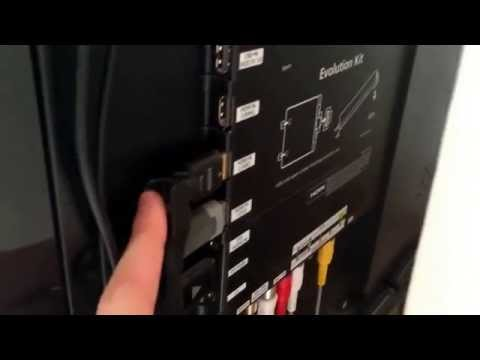 Samsung smart tv model UE46ES8000 hdmi cable and signal issues.