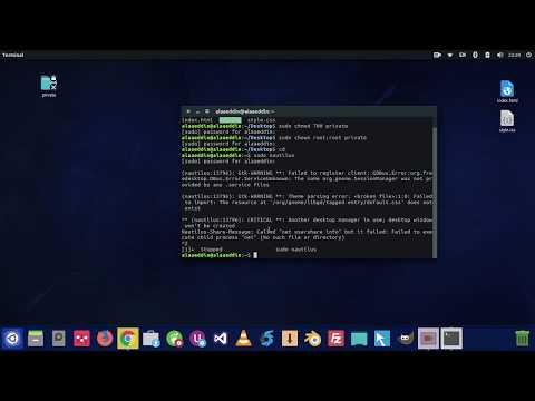 Lock & Unlock Folders On Linux Ubuntu