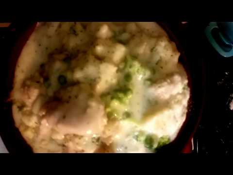 Southern Creamy Chicken And Fluffy Dumplings