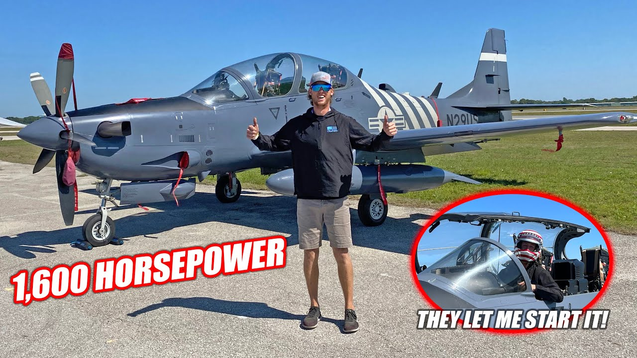 How We Arranged an A-29 Super Tucano Flyover at the Freedom 500!!! (FREEDOM 500 Vlog)
