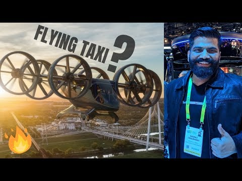 Flying Taxi Is Here - Bell Nexus First Look - Uber's Flying Taxi #CES19