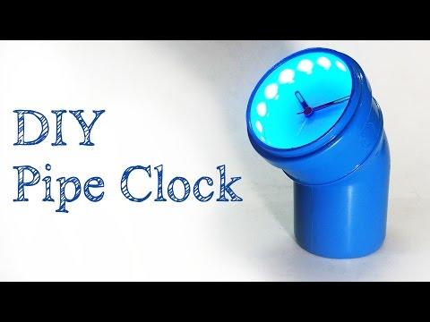 DIY Clock | DIY PVC pipe project