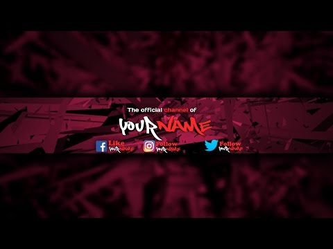 How To Make A Channel Art on Android for Youtube 2016 updated