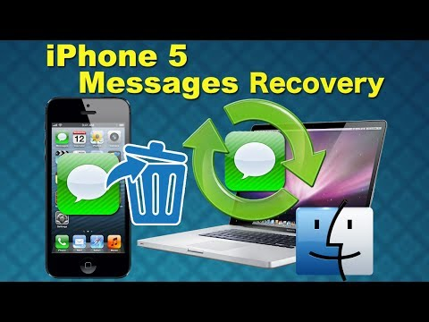 Restore iPhone SMS: How to Recover SMS Text Messages from iPhone 5 directly without iTunes Backup