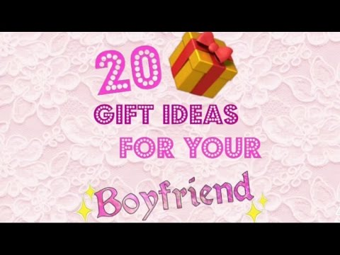 20 GIFT IDEAS for your BOYFRIEND, DAD, BROTHER, HUSBAND !