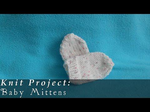 Mittens | Newborn to 3 months { Knit }