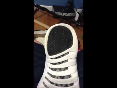 Air jordan playoff retro 12 how to clean you soles