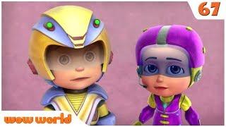 Vir The Robot Boy | Vir The Villain | 3D Action Cartoon for Kids| WOW WORLD