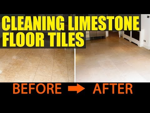 Cleaning Limestone Tiles in London