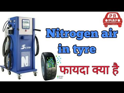 Nitrogen air Vs normal air in car tyres
