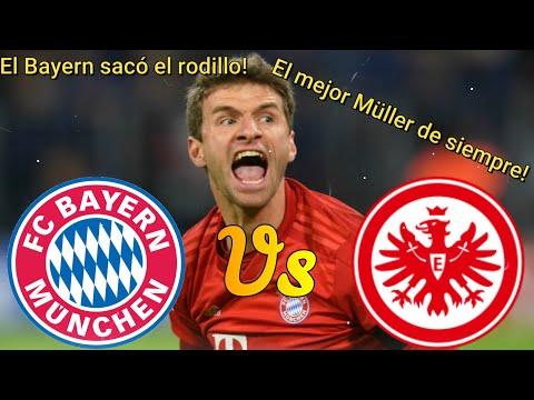 Análisis Bayern Múnich vs Eintracht Frankfurt | El Bayern sacó el rodillo | El 27º de Lewandowski