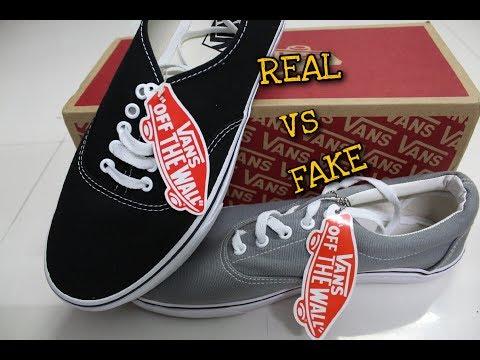 How To Identify  FAKE vs REAL Vans | HINDI (Vans Authentic vs Vans Era)