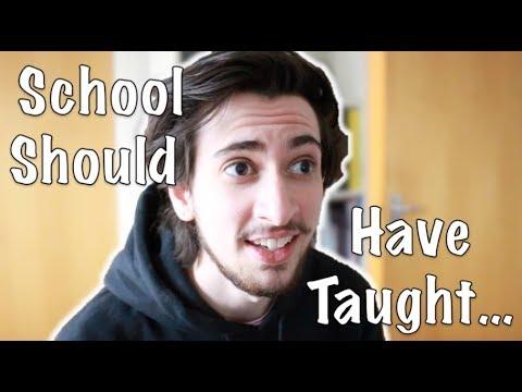Things School Should Teach