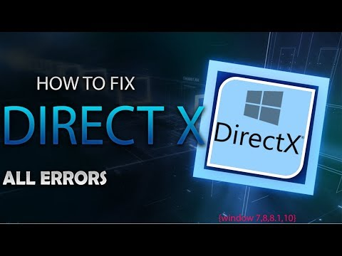 How to fix DirectX Error [windows 7 / 8 / 8.1 / 10] when you run a game 100% WORKING