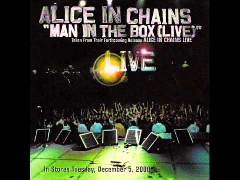 Alice In Chains - Man In The Box - Single 2000