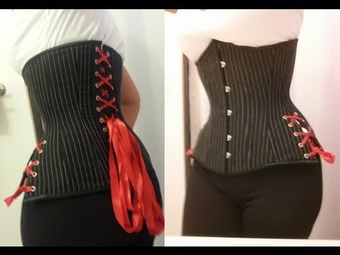 Corset Modification: Adjustable Hip Ties | Lucy's Corsetry
