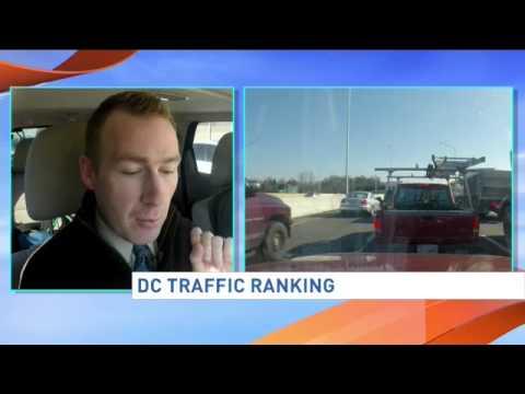 D.C. traffic ranking
