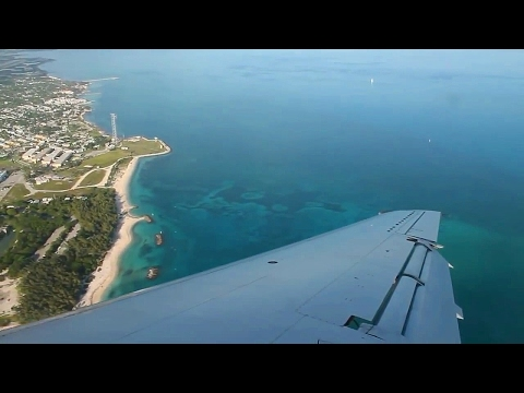 American Eagle AA3477 Miami - Key West Embraer 140 Safety, Takeoff & Landing