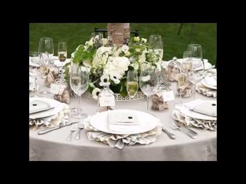 Easy Table decorations ideas for weddings