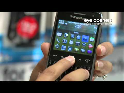 Playing music on the BlackBerry Curve 9360