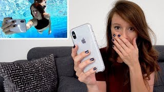 Did My iPhone X Survive WATER? | #AskJenna