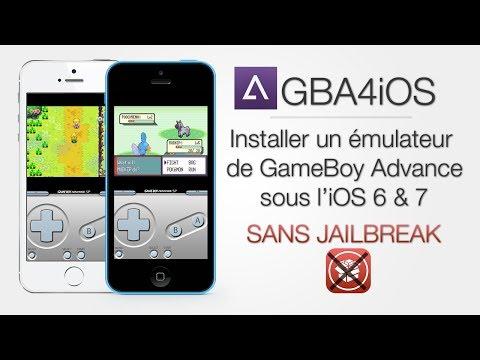Jouer à des jeux de GameBoy Advance sous l'iOS 6 & 7 SANS JAILBREAK iPhone 5S/5C/5 & iPod Touch