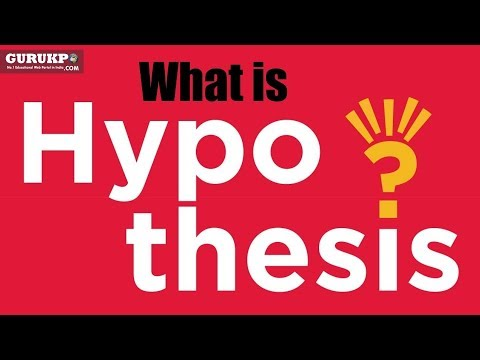 What is Hypothesis? BA Social Science (Arts) Gurukpo