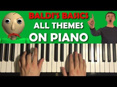 BALDI'S BASICS ON PIANO