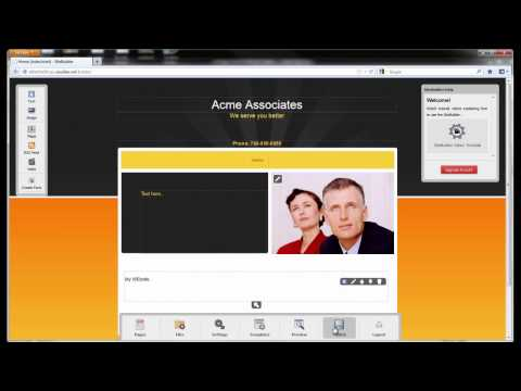 SiteBuilder Basic Overview video