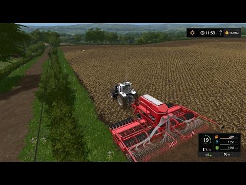 Farming simulator 17 - Planting canola and soybeans | Coldborough Park Farm ep.10