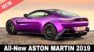 9 New Aston Martin Cars that Combine British Exclusivity and Sporty Performance in 2019