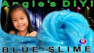 Prince t and princess a family videos fan request diy blue glitter glue slime 8 thai khmer girl diy easy blue ccuart Images