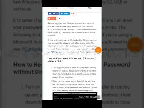 How to hack a window 7 ultimate administrator password without cd