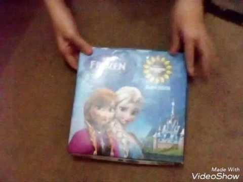 Showing my frozen slam book