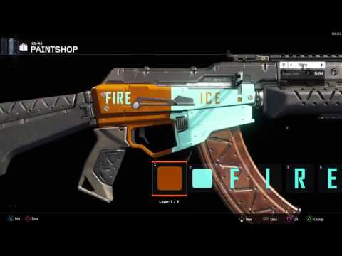 Fire vs Ice - KN-44 paintjob
