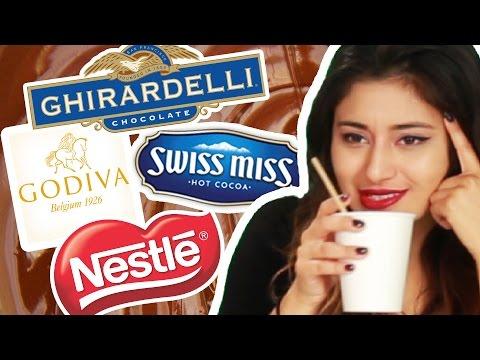 Instant Hot Chocolate Taste Test