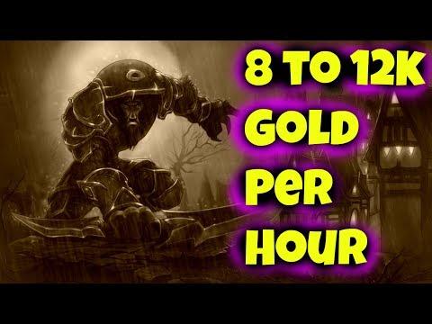 8K to 12K Per Hour Volatile Fire / Water Farm - WoW Gold Farm