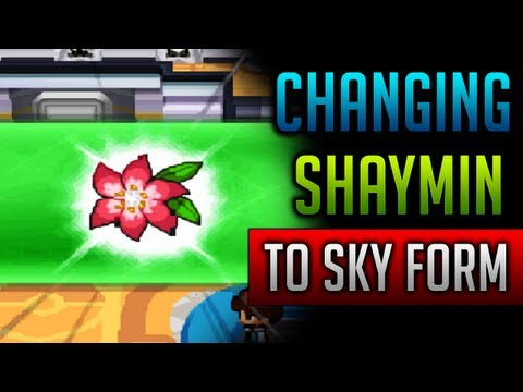 How & Where to catch/get - Shaymin Sky Form in Pokemon Black 2 & Pokemon White 2