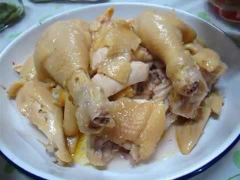 鹽焗雞 Chinese salted chicken