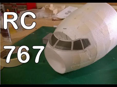 RC Boeing 767-200 Depron EDF Airliner Build Part One