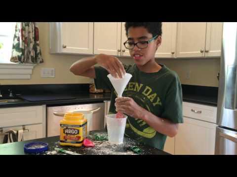 Easy Oobleck Balloon Ball Experiment - Episode 2