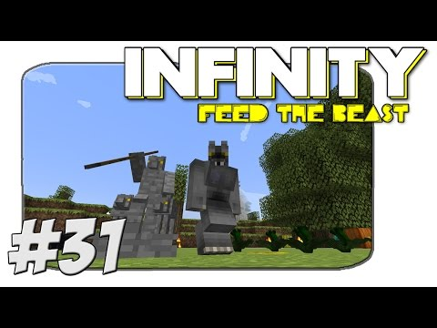 FTB Infinity - Becoming A Werewolf! - Part 31