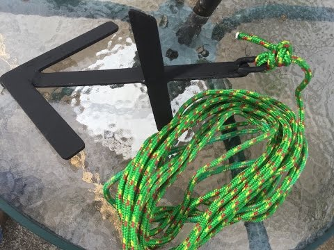 Making boat anchor from scratch